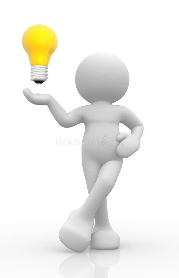 Lightbulb vector illustratie