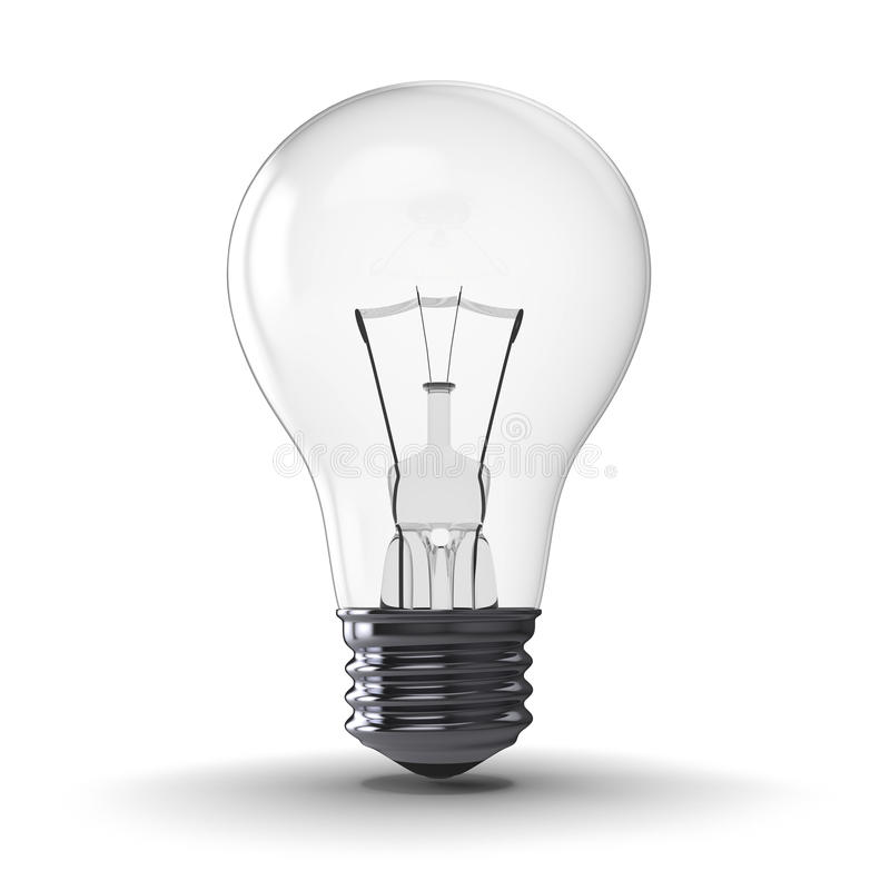 Download Lightbulb stock illustration. Image of creativity, idea - 26663668