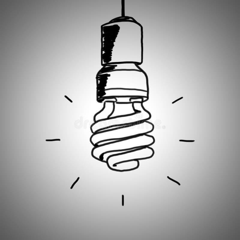 Lightbulb royalty-vrije illustratie