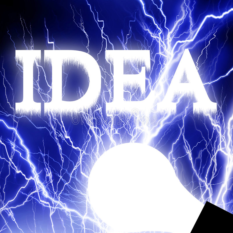 Lightbulb royalty ilustracja