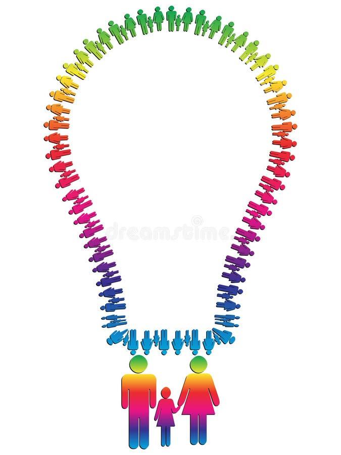 lightbulb иллюстрация вектора