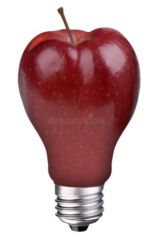 Free Lightbulb Apple Royalty Free Stock Photos - 12495728