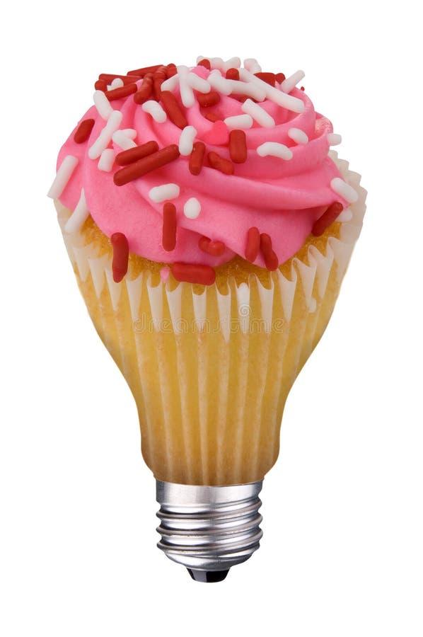 Free Lightbulb Cupcake Stock Images - 11858984
