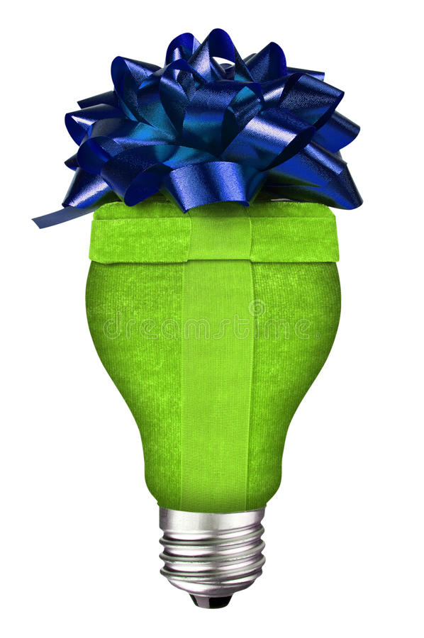 Free Lightbulb Gift Royalty Free Stock Photography - 12909647