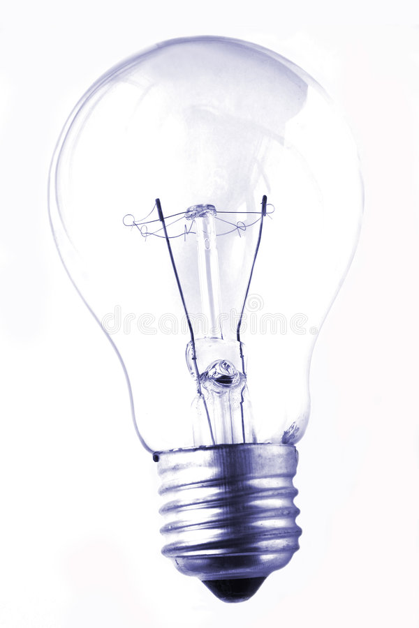 Lightbulb Grunge stock photography