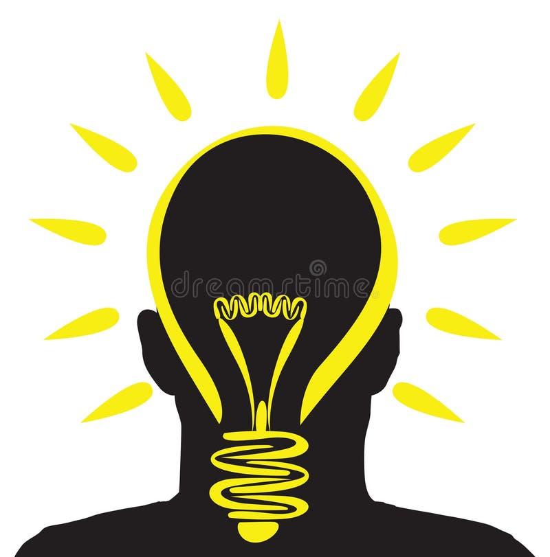 Lightbulb idea vector illustration