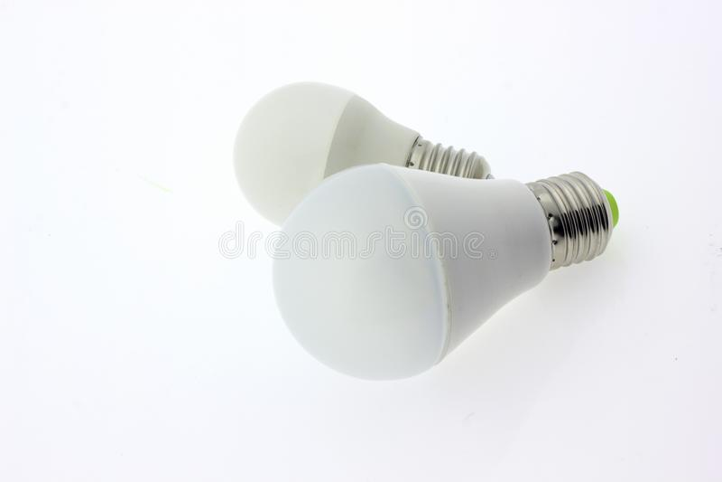 Lightbulb lampy światło obraz royalty free