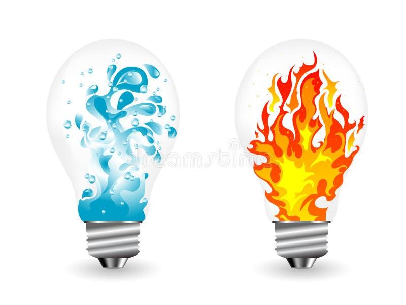 Lightbulbs vector illustratie