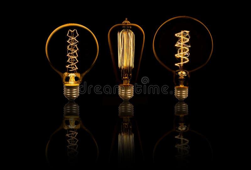 Lightbulbs stock photos