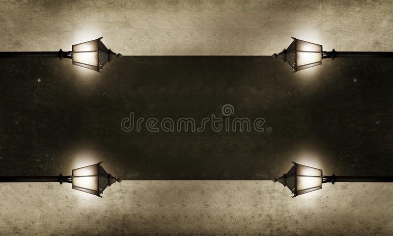 Download Lighted Board For Your Text Stock Illustration - Image: 22163283