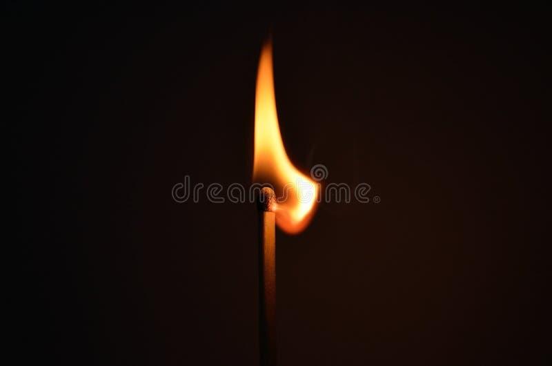 Lighted Burning Match Free Public Domain Cc0 Image