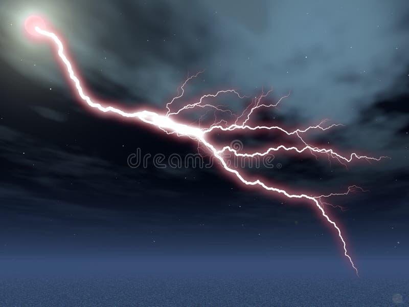lightening διανυσματική απεικόνιση