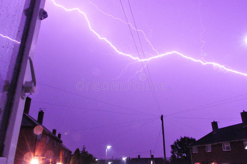 lightening στοκ φωτογραφίες