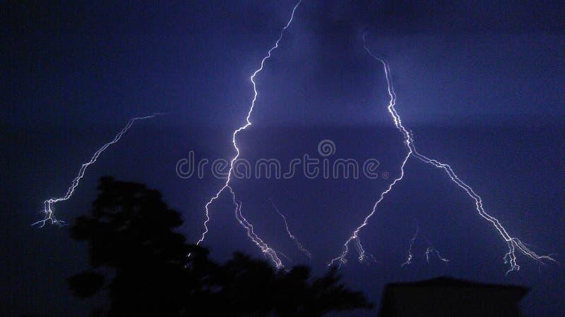 Lightening stock photo