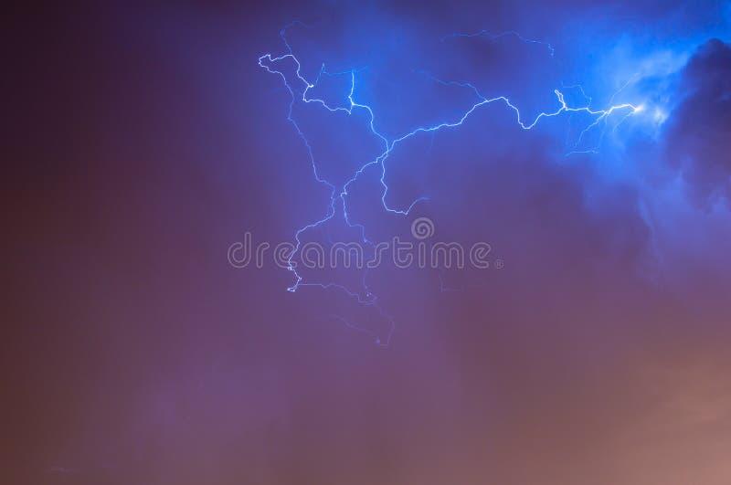Lightening Skyscape stock photo