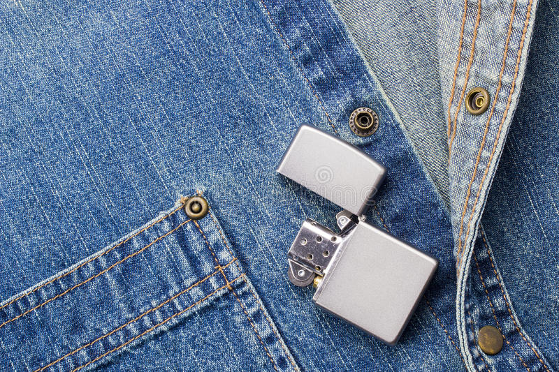 Download Lighter and Denim stock image. Image of health, aged - 25247919