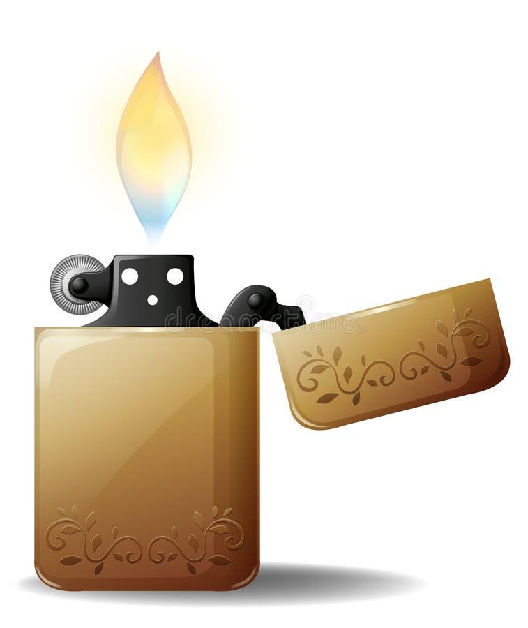Lighter stock illustration