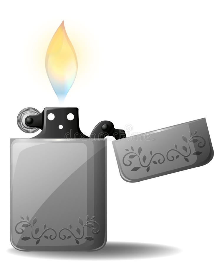 Lighter stock illustration