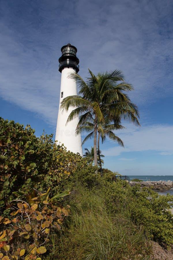 Lighthoouse sulla costa di Florida immagini stock libere da diritti
