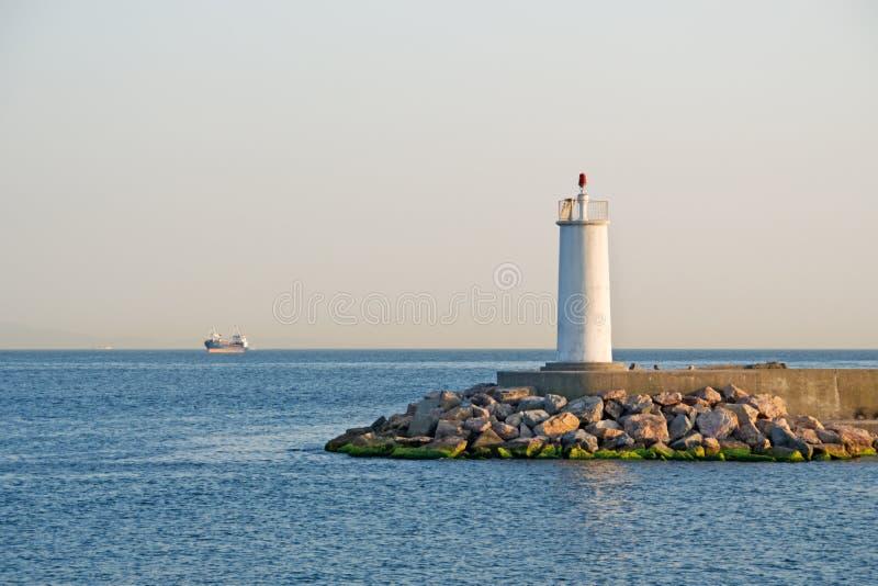 lighthous海运 图库摄影