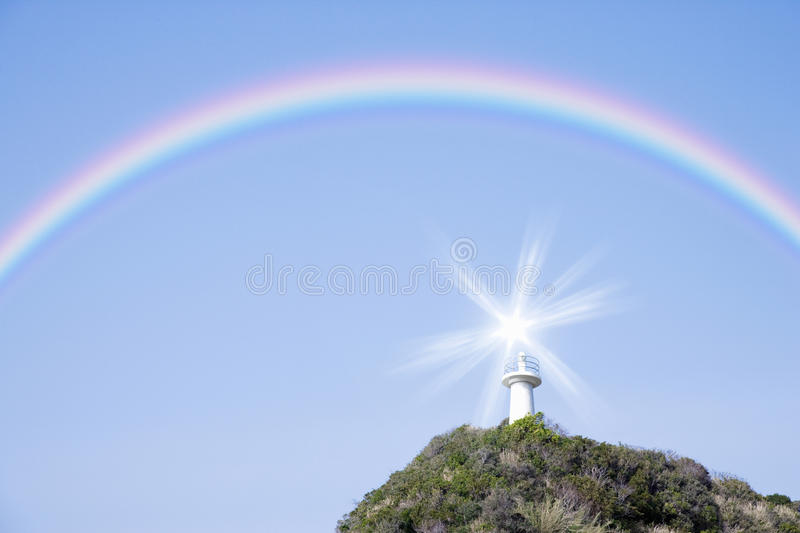 Download Lighthouse stock image. Image of backgrounds, landscape - 10155387