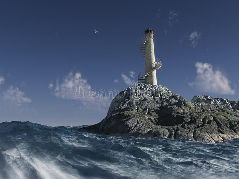 Download Lighthouse Stock Photography - Image: 10737612