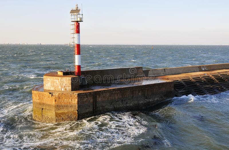 Download Lighthouse stock photo. Image of beacon, safety, shore - 12234510