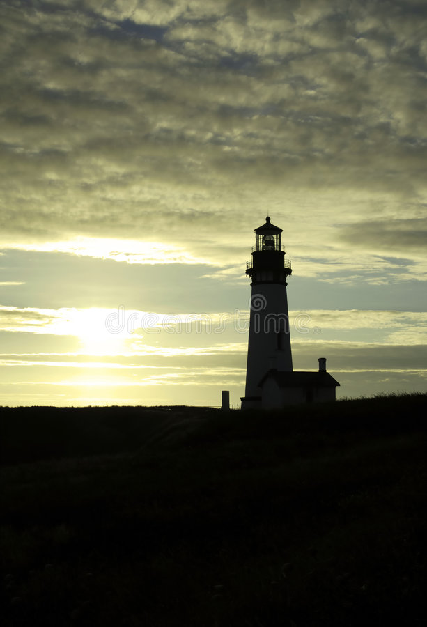 The lighthouse royalty free stock image