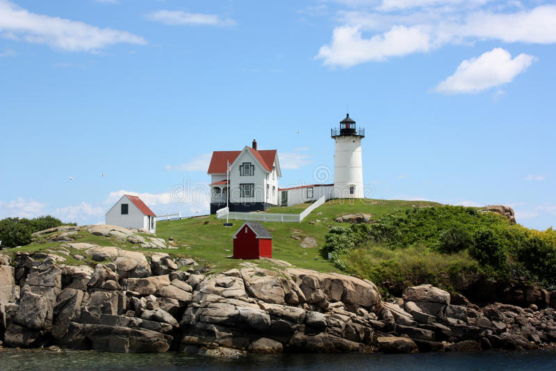 Download Lighthouse stock image. Image of rocks, atlantic, coast - 15259217