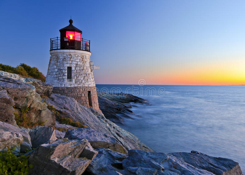 Download Lighthouse stock photo. Image of cliff, nature, dusk - 16879296
