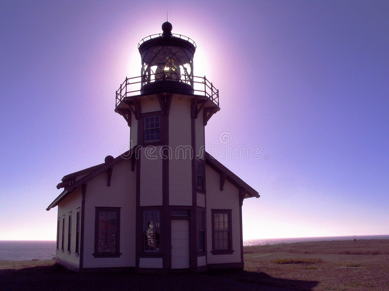 Download Lighthouse stock photo. Image of coast, rocks, cabrillo - 176908