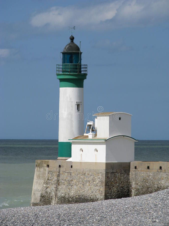 Download Lighthouse stock image. Image of shore, france, house - 18303311