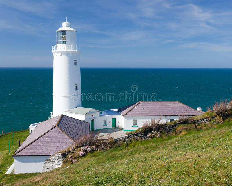 Download Lighthouse stock image. Image of cornish, england, sunny - 19304597