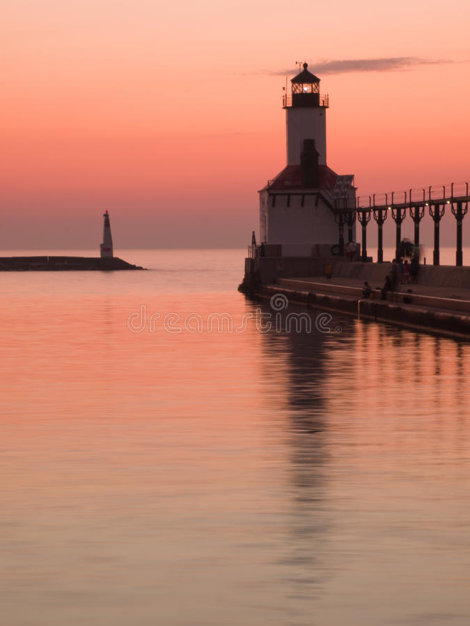 Download Lighthouse stock image. Image of activity, holiday, breakwater - 20355517