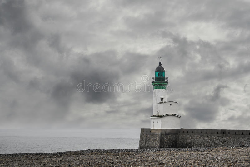 Download Lighthouse stock image. Image of water, tower, beach - 24743881