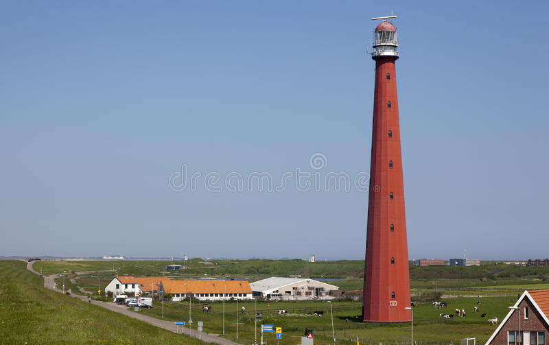 Download Lighthouse stock photo. Image of holland, warning, green - 25471702