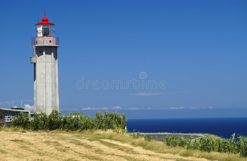 Download Lighthouse stock photo. Image of portugal, azores, stairs - 257112