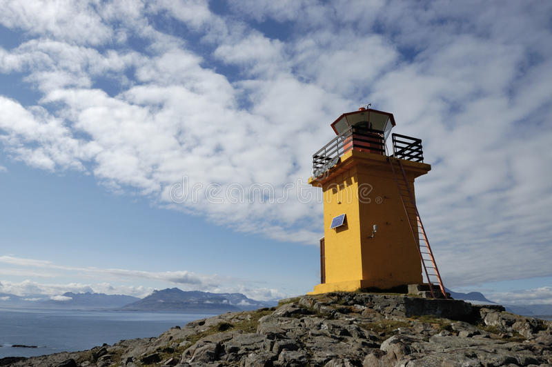 Download Lighthouse. stock image. Image of blue, signaling, summit - 26092899