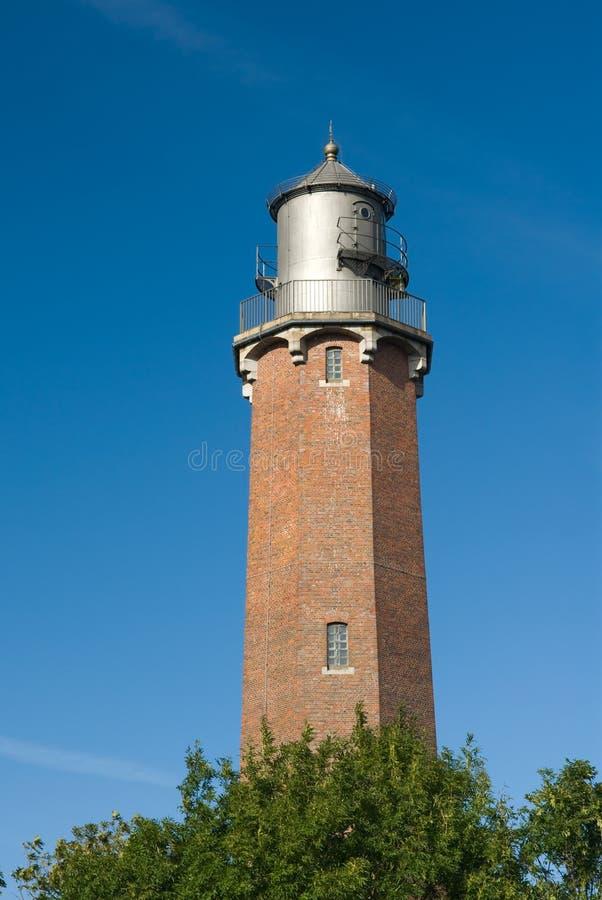 Lighthouse. Neuland. Schleswig Holstein,germany stock image