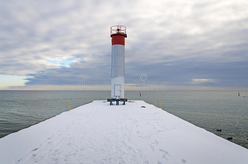 Download Lighthouse stock image. Image of whitby, winter, vertical - 37690323