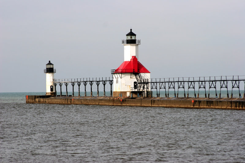 Download Lighthouse stock photo. Image of michigan, lighthouse, tourism - 473926