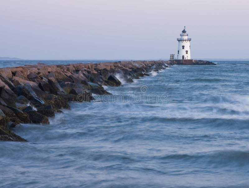 Download Lighthouse stock image. Image of beacon, warning, house - 5488651