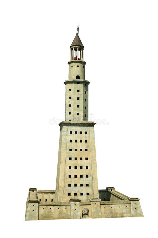 Lighthouse of Alexandria stock photography