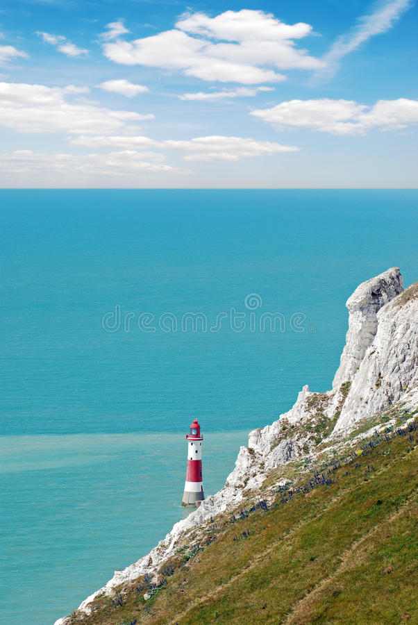Download Lighthouse at beachy head stock image. Image of european - 20126567