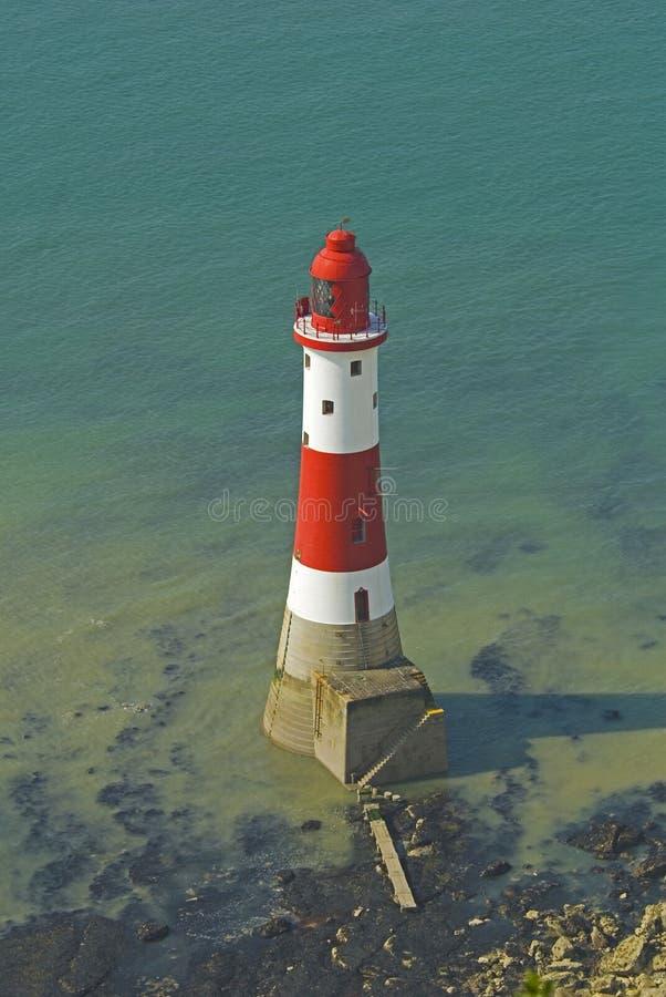 Lighthouse Beachy Head royalty free stock photo