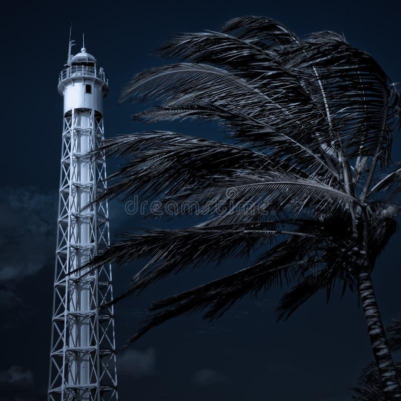 Lighthouse Blues stock photography