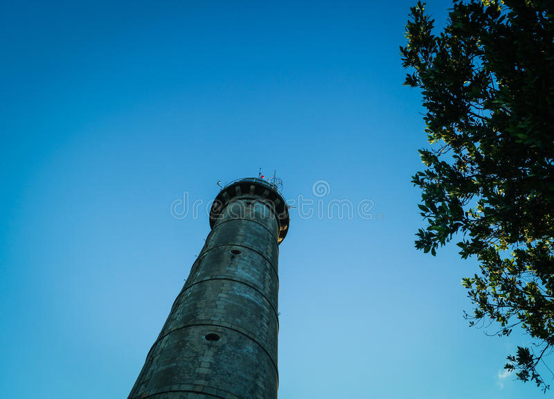 Lighthouse in Brittany royalty free stock photos