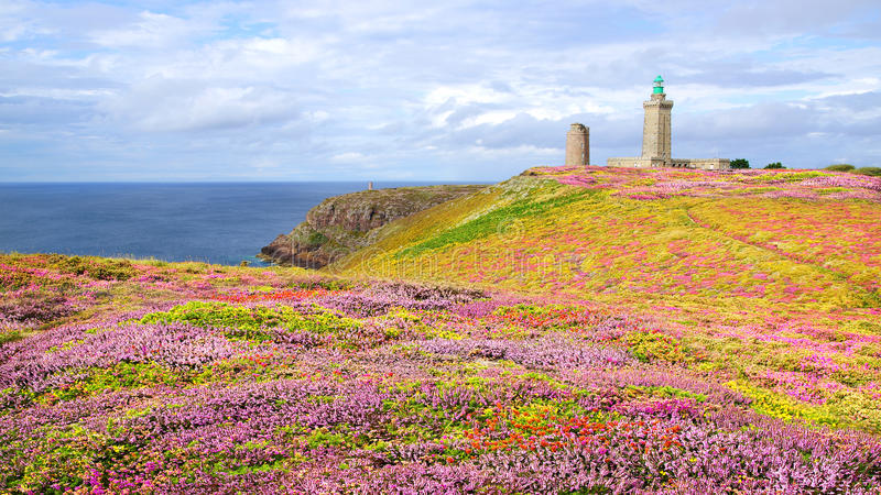 Download Lighthouse On Cap Frehel. Brittany, France Stock Photo - Image: 26515456