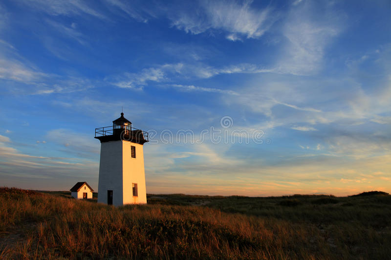 Lighthouse - Cape Cod. Lighthouse in Provincetown, Cape Cod, Massachusetts, USA stock photography