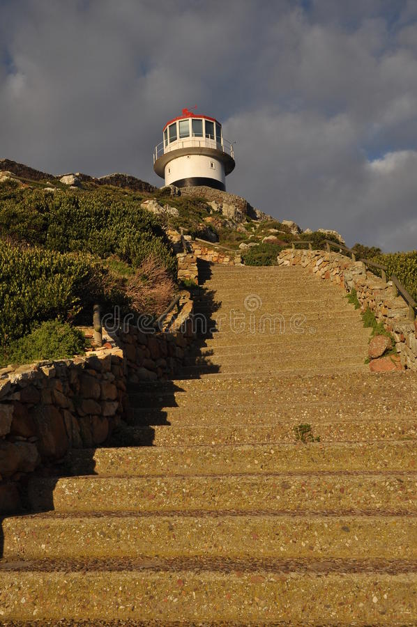 Lighthouse at Cape Point National Park royalty free stock photography